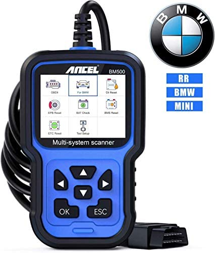 ANCEL BM500 All System OBD2 Scanner for BMW Mini Car Diagnostic Scan Tool for Engine ABS SRS product image