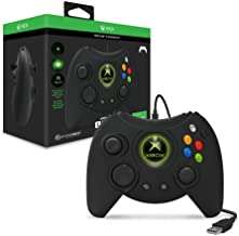 Hyperkin Duke Wired Controller for Xbox One/ Windows 10 PC (Black) - Officially Licensed by Xbox (Renewed)