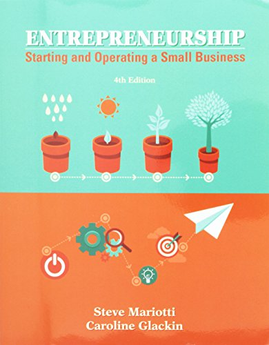 Entrepreneurship: Starting and Operating a Small Business Plus MyLab Entrepreneurship with Pearson eText -- Access Card