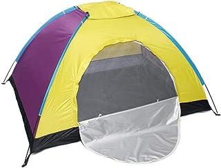 DorisAA camping tält enkel inställning 2 personer vattentätt campingtält oxfordtyg utomhus resor bärbart skydd 4/5000 slum...