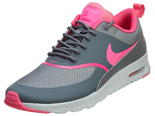 Nike Womens Air Max Thea Running Shoe Cool Grey/Pure Platinum/Pink Pow 7.5