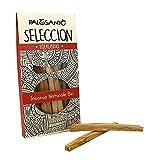 Palo Santo Legnetti Seleccion - La qualità più pregiata in commercio - Paletti Sottili facili da Accendere - Incenso Naturale ideale per purificazione casa ed ambienti - 5 paletti