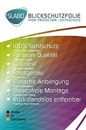Slabo Blickschutzfolie für Huawei P8 Max Sichtschutz 4-Way Displayschutzfolie 360 Grad View Protection Privacy Schwarz - 2