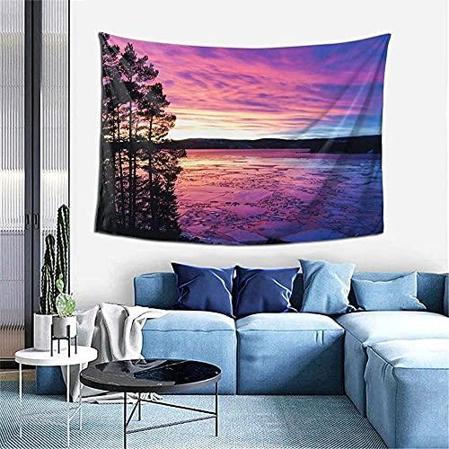 Sunset travel ocean sea landscape tapices tapices para colgar en la pared para dormitorio adolescentes niñas lindo dormitorio pequeño tapiz universitario decoración de la pared de la habitación indie
