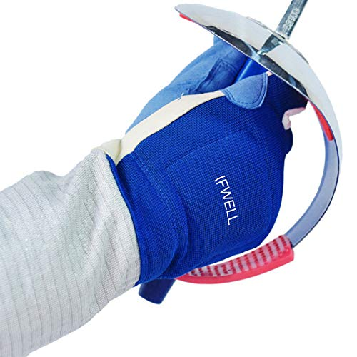 IFWELL Fencing Gloves Adult Fencing Equipment Triple Glove foil Epee Sabre Gloves Competition Training Gloves