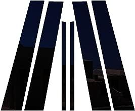 Ferreus Industries Piano Black Pillar Post Trim Cover fits: 2003-2008 Infiniti G35 & G37 2009-2013 4 Door Model PIL-037-GB-01
