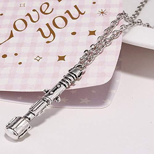 XLHJK halsketting met hanger, sieraden, voor Sony, schroevendraaier, halsketting, hanger, universeel, lange halskettingen voor mannen, lengte van de ketting: 60 cm
