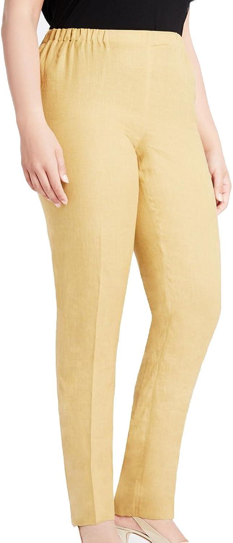 Marina Rinaldi Women's Regina Classical Flax Pants