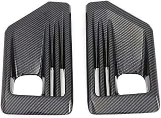 for Toyota RAV4 Adventure/Trail 2019 2020 ABS Auto Car Accessories Front Fog Lamp Light Cover Trim 2PCS (Carbon Fiber)
