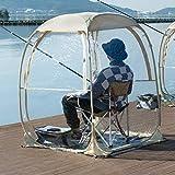 "EighteenTek Sports Tent Weather Pod Bubble Tent Outdoor Instant Pop Up Shelter Patent Pending 45""x45""x62"""