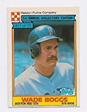 1984 Ralston Purina #11 Wade Boggs Boston Red Sox