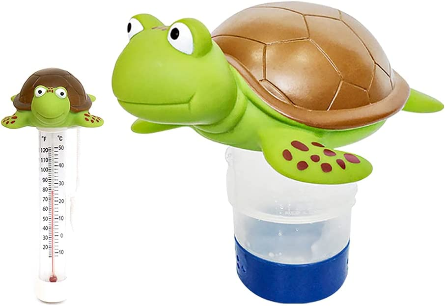 Chlorine Floater Turtle Collapsible Floating Direct sale of manufacturer Dispenser Safety and trust Pool