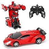 FIGROL Transform RC Car Robot, Remote Control Car Independent 2.4G Robot...