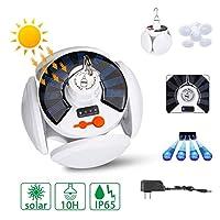 レトロ灯油ランプ 42LEDソーラーライトの電球屋外防水90°太陽の緊急充電式電球キャンプガーデン照明にハイキングを折ります 屋外キャンプライト (Emitting Color : 20LED Solar, Wattage : US Plug)
