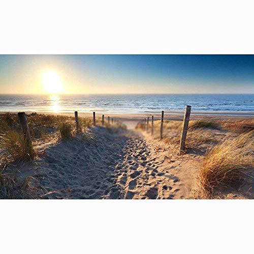 Puzzle 1000 Piezas Playa paisaje soleado 70x50cm Rompecabezas