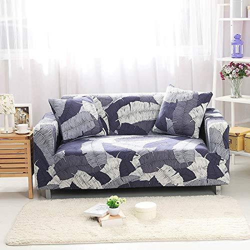 Funda de sofá elástica Fundas de sofá de algodón Fundas de sofá con Todo Incluido Fundas de sofá para Sala de Estar Fundas de sofá de Mascotas A20 4 plazas
