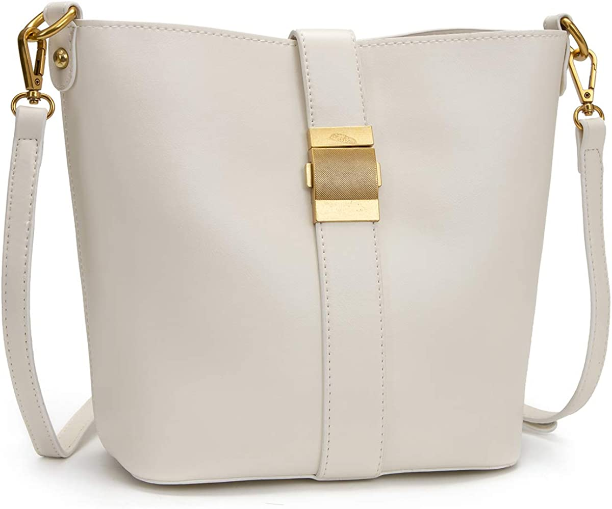 HORSE&TIGER Women Handbags PU Leather Designer Shoulder Tote Purse Casual Hobo Crossbody Bucket Bags