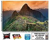 GREAT ART Fototapete Machu Picchu 210 x 140 cm –