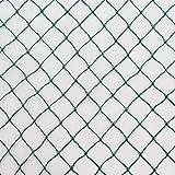 Vielseitiges Teichnetz 17m x 12m grün 17mm x 17mm Masche I Laubschutznetz Abdecknetz Vogelschutznetz Reiherschutz Laubnetz Teichabdeckung