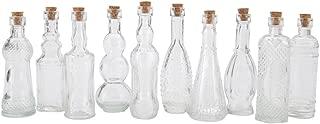 vintage decoupage bottles