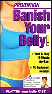 Prevention: Banish Your Belly! (Fast & Easy 15-Minute Workout No Equipment Needed!)