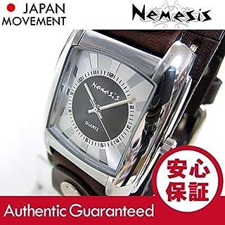 NEMESIS(ネメシス) Leather Cuff/レザーカフウォッチ CD049S アメリカンカジュアル メンズウォッチ 腕時計 [並行輸入品]
