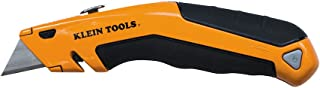 Heavy Duty Utility Knife, Retractable, Adjustable, with Wire Stripper, Klein-Kurve Handle..