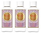 Bath and Body Works Bright Lemon Snowdrop 24 HR Moisture Body Lotion Lot of 3 - Full Size