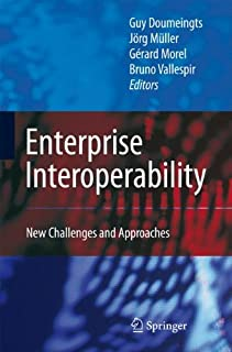 Enterprise Interoperability: New Challenges and Approaches (1846287138) | Amazon price tracker / tracking, Amazon price history charts, Amazon price watches, Amazon price drop alerts