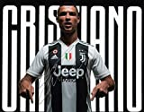 Fotodruck von Cristiano Ronaldo Juventus, mit vorgedrucktem