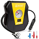 Autofy Atom 1 Year Warranty Car Tyre Inflator 100PSi Rapid Mini Portable Air Compressor Pump (4...