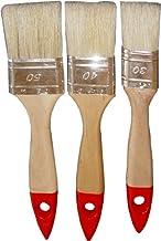 Nespoli 196000 - Set di pennelli piatti, 3 pezzi