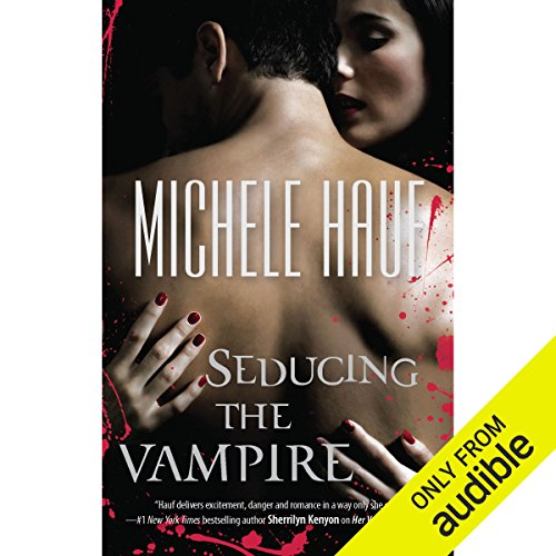 Seducing the Vampire audiobook cover art
