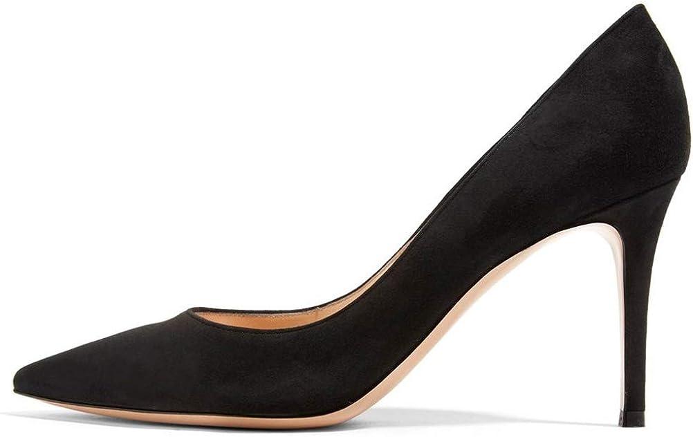 YODEKS Classic Max 90% OFF Pointed Toe Dress Pump Sexy On Slip Stilett Shoes Dedication