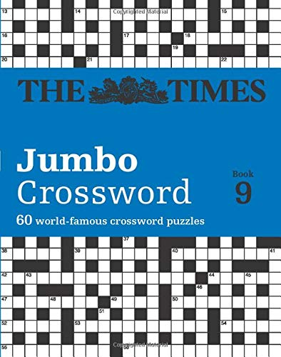 The Times Jumbo Crossword Book 9: 60 world-famous crossword puzzles (Crosswords, Band 9)