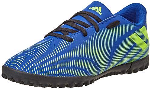 adidas Nemeziz .4 TF J, Zapatillas de fútbol, AZUREA/Amasol/NEGBÁS, 38 EU
