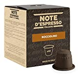 Note D'Espresso Nocciolino Preparato Solubile per Bevanda al Gusto di Cappuccino alla Nocciola - 280 g (40 x 7 g) Esclusivamente Compatibili con le macchine per caffè a capsule Nespresso*