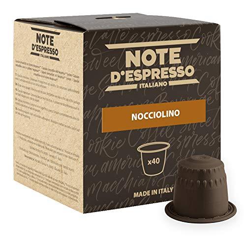 Note D'Espresso, Nocciolino, Capsule Compatibili Soltanto con sistema NESPRESSO*, 40 caps