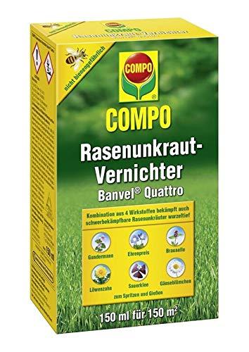 Compo Rasenunkraut-Vernichter Banvel Quattro 150 ml