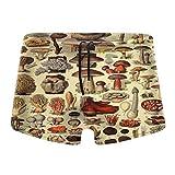 artyly Pantalones Cortos de Secado rápido de la natación de la Resaca del Estiramiento del Traje de baño de los Troncos de la Nadada de los Hombres Populares de la Seta, Talla M