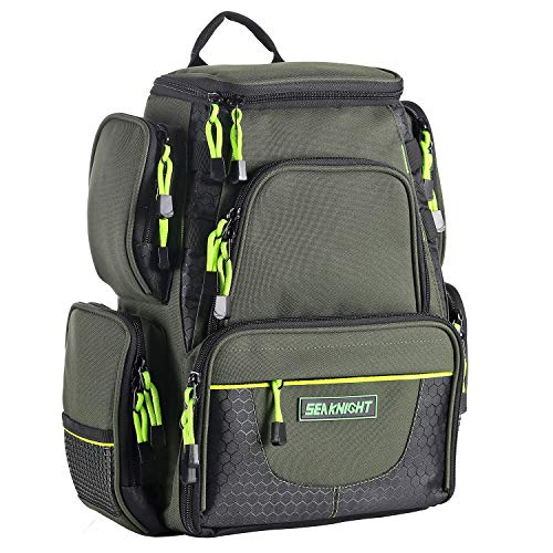 SeaKnight Waterproof Outdoor Tackle Bag Multi-Tackle Large...