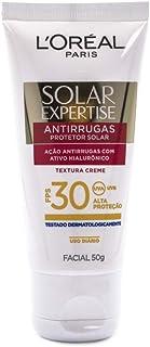 Protetor Solar Facial Anti-Rugas FPS 30 50g, L'Oréal Paris, Branco, 13
