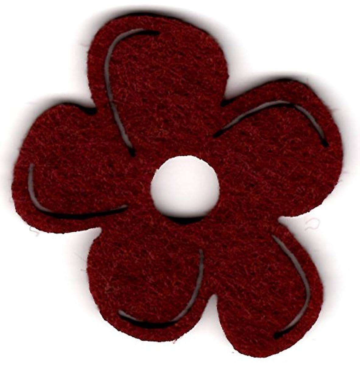 Petra's Craft A?–?BLF2704?–?29?40? Blossom 40?mm, Bordeaux