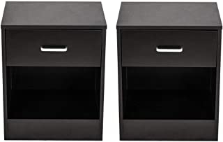 Best black nightstand near me Reviews