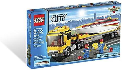 LEGO  City  Power Boat Transporter