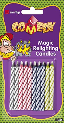 Smiffys Bougies rallumables par magie, 9