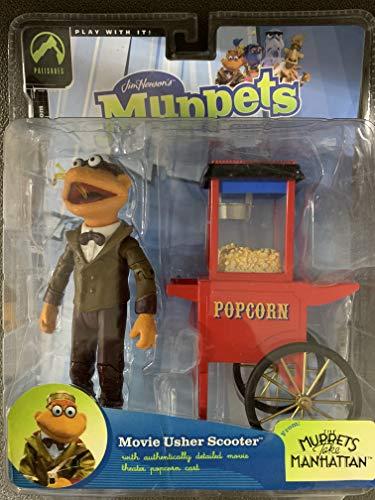 Muppet Show Serie 8 - Usher Scooter 15cm Figur