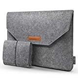 HOMIEE 15.4-15.6 inch Laptop Sleeve with Extra Storage Case and Mouse Pad