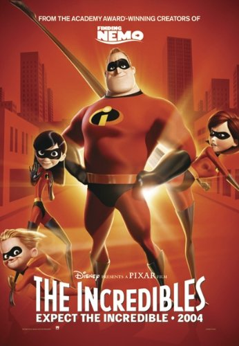 The Incredibles - Advance Movie Poster: (Size: 27'' x 39'')
