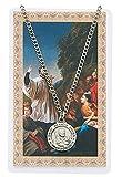 Médaille de Saint Francis Xavier avec carte de prière